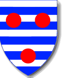 armoiries dessinées par Xavier, Vieux Château d' Airvault