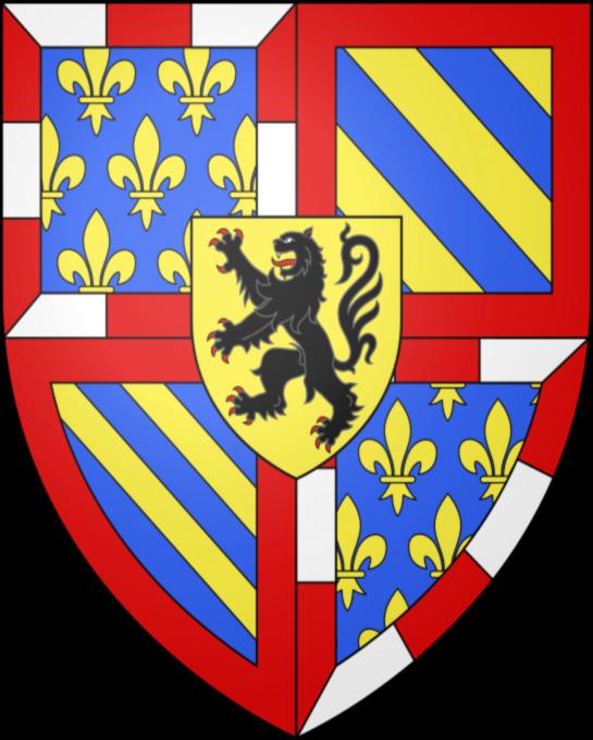Armoiries dessinées par Joël, Collectif du Quartier Médiéval