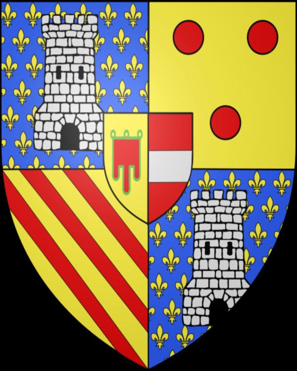 Armoiries dessinées par Jacques, Collectif du Quartier Médiéval