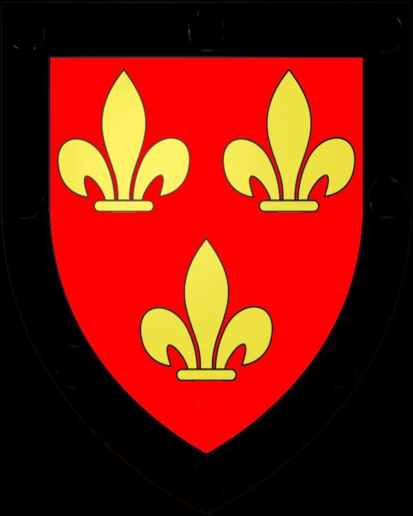 armoiries des Delinas d'Orfeuille