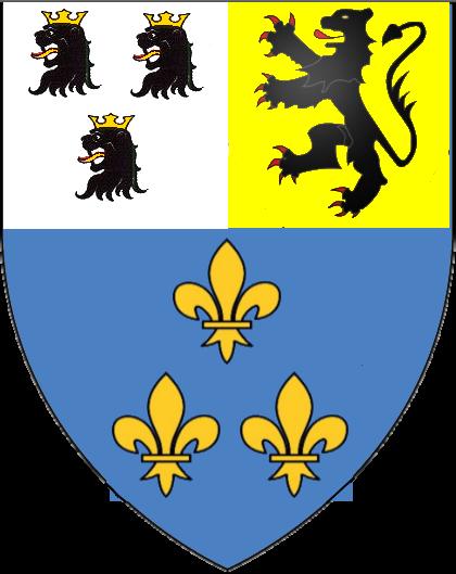 armoiries des Bourbon-Orfeuille